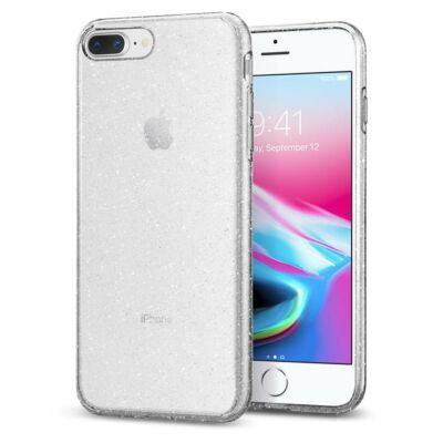 """Szilikon tok, 0,5mm, csillogó, Apple Iphone 11 (6,1""""), átlátszó"""
