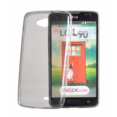 Tok, Ultra Slim-szilikon tok, Apple Iphone 7 / 8 / SE (2020), füst színű áttetsző, csomagolás nélkül