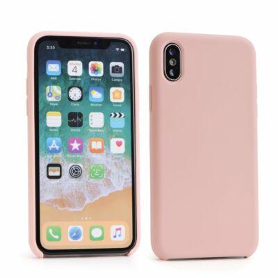 """Tok, erősített szilikon hátlap, Apple Iphone 12 Mini (5,4""""), halvány rózsaszín"""