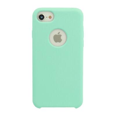 Tok, erősített szilikon hátlap, Apple Iphone 7 / 8 / SE (2020), menta zöld