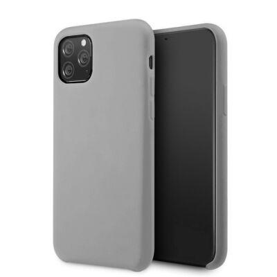 Tok, erősített szilikon hátlap, Apple Iphone 7 / 8 / SE (2020), szürke