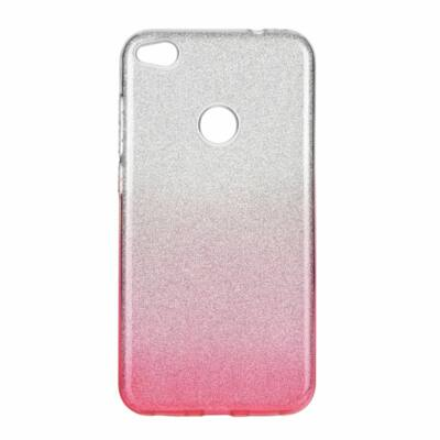 """Tok, Shining, Apple Iphone 12 Pro Max (6,7""""), szilikon hátlapvédő, 3 részes, rózsaszín átmenetes"""