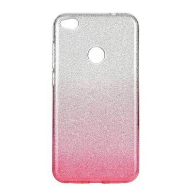 """Tok, Shining, Apple Iphone 12 / 12 Pro (6,1""""), szilikon hátlapvédő, 3 részes, rózsaszín átmenetes"""