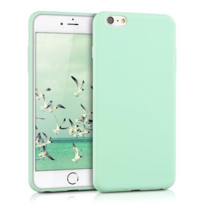 """Tok, Soft matt, 0,3 mm, szilikon hátlap, Apple Iphone 11 (6,1""""), menta zöld"""