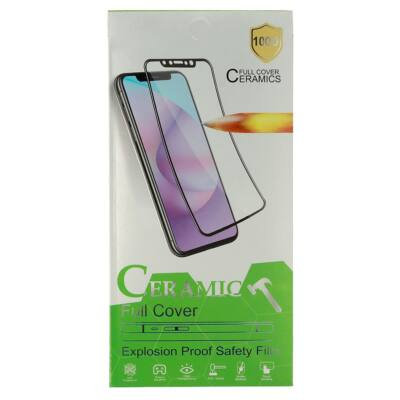 Képernyővédő flexibilis fólia, Hard Ceramic, Apple Iphone 7 / 8 / SE (2020), full size, fehér