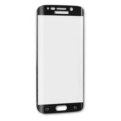 Képernyővédő, ütésálló üvegfólia, Apple Iphone XR / 11, full size 5D, fekete