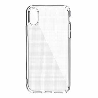 Szilikon tok, 2mm, Apple Iphone 7 / 8 / SE (2020), átlátszó, bliszteres