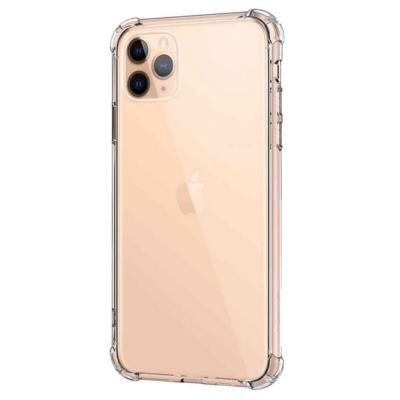 """Szilikon tok, Apple Iphone 13 Pro Max (6,7""""), átlátszó, erősített sarokkal, prémium minőség"""