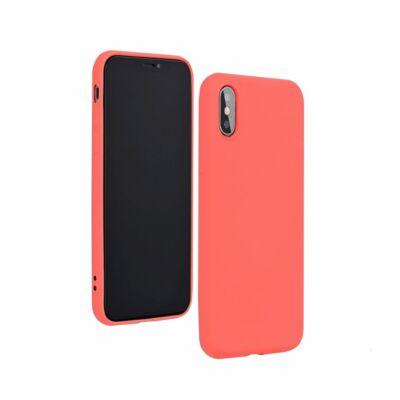 """Tok, Silicone Lite, Apple Iphone 12 / 12 Pro (6,1""""), szilikon hátlapvédő, barack"""