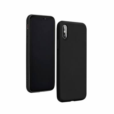 "Tok, Silicone Lite, Apple Iphone 12 Pro Max (6,7""), szilikon hátlapvédő, fekete"