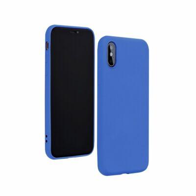"""Tok, Silicone Lite, Apple Iphone 12 / 12 Pro (6,1""""), szilikon hátlapvédő, kék"""