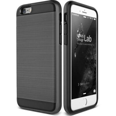 """Tok, Verge, szálcsiszolt aluminium hátlap, Apple Iphone 11 Pro (5,8""""), fekete"""