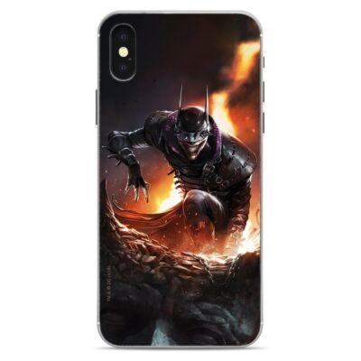Szilikon tok, Apple Iphone 7 / 8 / SE (2020), DC, mintás hátlap, minta 6 (Batman Who Laughs 2)