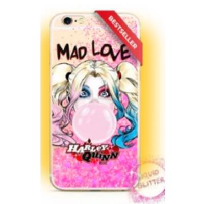 Szilikon tok, Apple Iphone 7 / 8 / SE (2020), DC, Water Case mintás hátlap, minta 001 (Harley Quinn)
