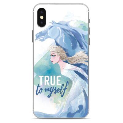 Szilikon tok, Apple Iphone 7 / 8 / SE (2020), Disney, mintás hátlap, minta 9 (Elsa)