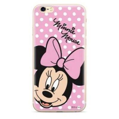 Szilikon tok, Apple Iphone 7 / 8 / SE (2020), Disney, mintás hátlap, minta 008 (Minnie Mouse)