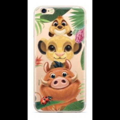 """Szilikon tok, Apple Iphone 11 (6,1""""), Disney, mintás hátlap, minta 003 (Oroszlánkirály)"""