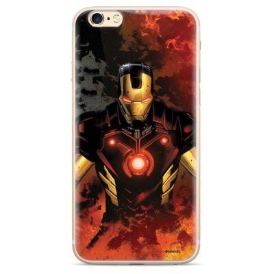 """Szilikon tok, Apple Iphone 11 (6,1""""), Marvel, mintás hátlap, minta 003 (Iron Man)"""