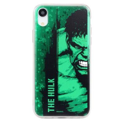 """Szilikon tok, Apple Iphone 11 (6,1""""), Marvel, mintás hátlap, minta 001 (The Hulk)"""