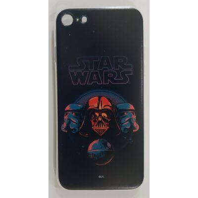 Szilikon tok, Apple Iphone 7 / 8 / SE (2020), Star Wars, mintás hátlap, minta 036 (Death Star)