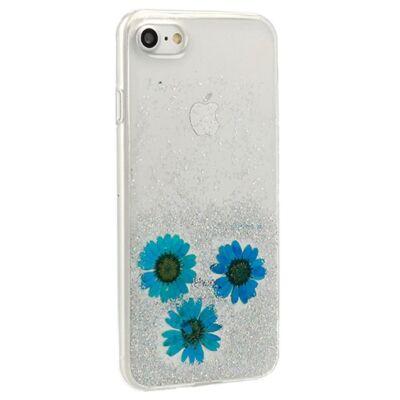 Tok, Vennus Flower, mintás hátlap, szilikon kerettel, Apple Iphone 7 / 8 / SE (2020), minta 1 (Amelia)