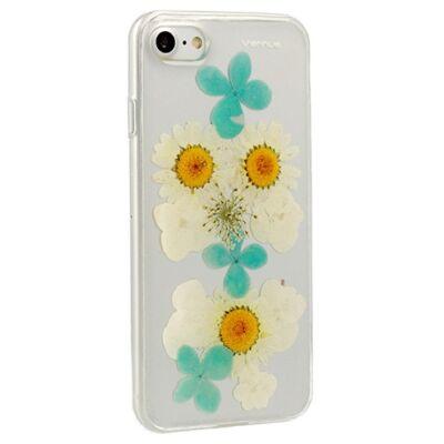 Tok, Vennus Flower, mintás hátlap, szilikon kerettel, Apple Iphone 7 / 8 / SE (2020), minta 2 (Camila)