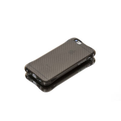 Tok, Ginger, ütésálló szilikon tok, Samsung Galaxy S7, áttetsző füst színű