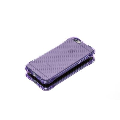 Tok, Ginger, ütésálló szilikon tok, Samsung Galaxy Grand Prime G530, áttetsző lila