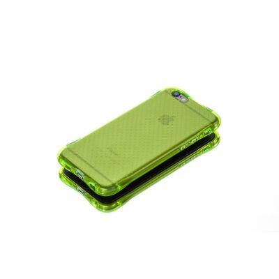 Tok, Ginger, ütésálló szilikon tok, Samsung Galaxy A3 (2016) A310, áttetsző uv zöld