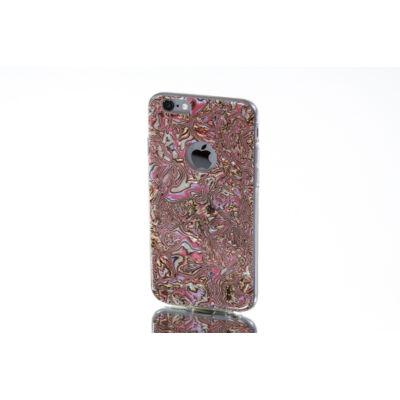 Tok, Ultra Slim-szilikon tok, Glória, Samsung Galaxy S7, rózsaszín