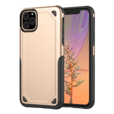 """Tok, Hybrid Armor aluminium hátlap, szilikon kerettel, Apple Iphone 11 (6,1""""), arany"""