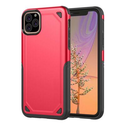 """Tok, Hybrid Armor aluminium hátlap, szilikon kerettel, Apple Iphone 11 Pro (5,8""""), piros"""