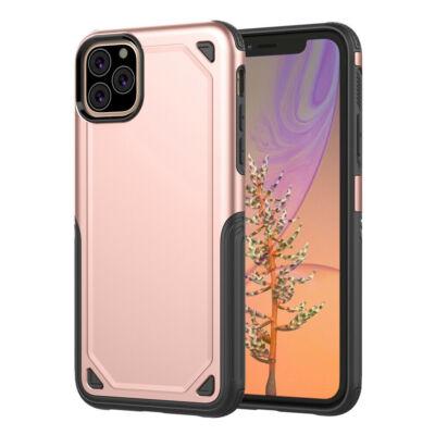 """Tok, Hybrid Armor aluminium hátlap, szilikon kerettel, Apple Iphone 11 Pro (5,8""""), rose gold"""