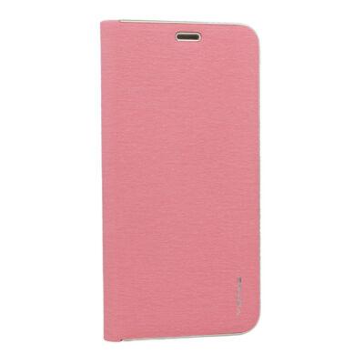 Tok, Vennus, oldalra nyíló mágneses műbőr flip tok, Apple iPhone 7 / 8 / SE (2020), rózsaszín, (szilikon belsővel), csomagolás nélküli (prémium minőség)