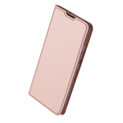 """Tok, Dux Ducis Skin Pro, oldalra nyíló mágneses műbőr flip tok, Apple Iphone 12 Mini (5,4""""), rose gold, (szilikon belsővel), bliszteres"""