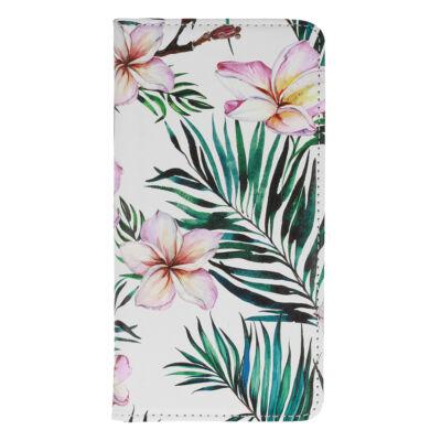 """Tok, Smart Flower, mágneses oldalra nyíló flip tok, Apple Iphone 13 Mini (5,4""""), minta 1, (szilikon belsővel), csomagolás nélküli"""