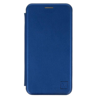 """Tok, Elegance, mágneses, oldalra nyíló műbőr flip tok, Apple Iphone 12 Pro Max (6,7""""), kék, (szilikon belsővel), csomagolás nélküli"""