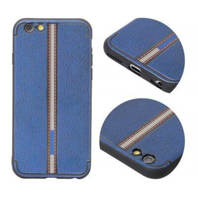 Tok, Grid, szilikon hátlap, Apple Iphone 7 / 8 / SE (2020), minta 3, kék