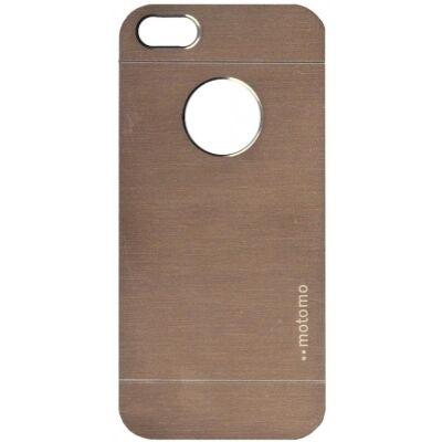 Tok, Motomo, szálcsiszolt aluminium hátlap, Apple iPhone 6 Plus, arany